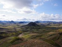 アイスランド ロイガヴェーグル(Laugavegur)トレッキング