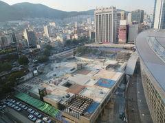 韓国 「行った所・見た所」 釜山の東横イン釜山駅1に宿泊してチャガルチまで散策