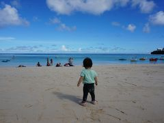 グアム旅行 6歳娘、1歳3か月娘を連れて