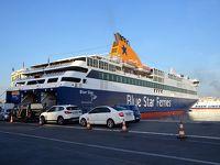 ピレウスからサントリーニ島へ船の旅