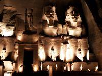 神秘のエジプト幻想紀行10日間 #3/アブ・シンベル神殿�/夜も朝も魅了されました