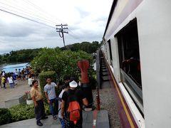 2018年の夏休みは泰緬鉄道を追い求めてタイへ/トンブリー駅からナムトック駅まで/その2