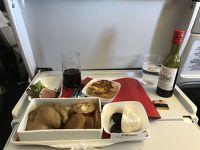 エールフランス プレミアムエコノミークラスと有料機内食