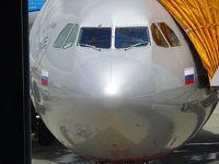 2018年09月ロシア(01) アエロフロート航空でモスクワ経由サンクトペテルブルクへ