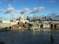 Tate Modernから眺めるロンドン