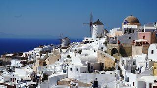 サントリーニ島・イア1日目 夏の最盛期に行くヨーロッパ(7)ギリシャ