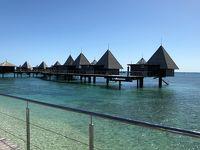 メトル島の水上バンガローと、ヌメア散策