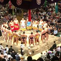 大相撲九月場所観戦 1日目
