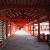 夏休み 岡山〜倉敷〜尾道〜宮島を巡る旅 4日目 早朝の厳島神社参拝 ランチに広島焼きを堪能 暑さで空港でまったり