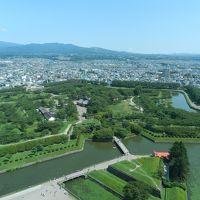 初めて訪れました!『五稜郭』◆2016年8月・東北縦断〜函館の旅《その17》