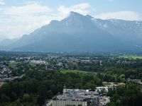 2018年オーストリアの旅 �13       *** Untersberg と Salzburg 旧市街観光 〜帰国へ ***