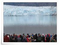 アラスカへの旅 グレッシャーベイ