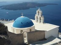 ギリシャ、アテネとエーゲ海クルーズ6:サントリーニ島フィラ