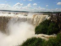 南米旅行 イグアスの滝 アルゼンチン側