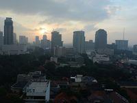 インドネシア皆既日食とボルブドゥール遺跡の旅(1)ジャカルタまで