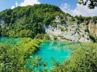夏休み@クロアチア縦断ドライブの旅� プリトゥヴィツェ エメラルドの国立公園