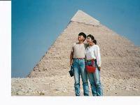 エジプト旅行記「10月のバラ」薔薇を巡る旅 ギザ ナズラット・アル・サマムン村にて