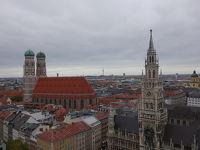 一人で初海外〜中欧周遊12日間 2日目 曇り空のミュンヘン
