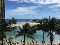 母、娘、孫  女3人 今年2度目のハワイ旅行  2日目