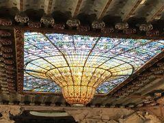 スペイン6日目◇バルセロナ グエル公園・カタルーニャ音楽堂・グラシア通りのモデルニズモ建築