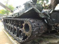 ベトナム、戦争博物館、タンク、ホーチミン、2017.11