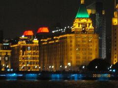 上海の外灘・ライトアップが拡大強化・2018年11月