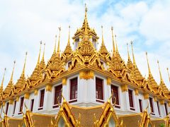 今度こそあなたと一緒に行きタイランド�天使の都バンコクで*定番ワット巡り&チャオプラヤ川の風に吹かれてみたりした〜.☆*