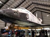 本物のスペースシャトル エンデバーを見に行こう。カリフォルニア サイエンスセンター in ロサンゼルス。California Science Center in Los Angeles, CA