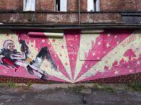 【ロシア】グム百貨店周辺と噴水通り周辺の路地裏落書きアート集