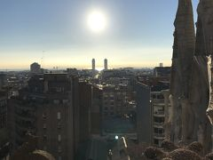 年始はバルセロナへ!�サグラダファミリア〜サンパウ病院