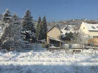 ブダベストからウィーンまでの鉄道の旅。