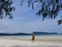 カンボジアのビーチ、ロンサレム島