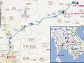 行き:バンコク・フアランポーン駅より、ウボンラチャタニー行き列車でナコーン・ラーチャシーマー駅まで4時間。ピマーイの町まで車で約30分。  帰り:ピマーイのバスターミナルより高速バスでバンコク北ターミナル(チャトゥチャック近く)まで3時間半。