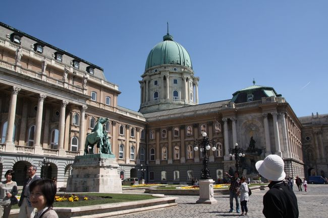 ハンガリー、王宮ブダ城 『中欧5カ国の旅、ハンガリー』ブダペスト(ハンガリー)の旅行記・ブログ