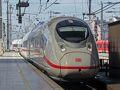 MünchenまでももちろんICEです。 ※あとで調べたら最新式ICE(Velaro-D)。 かっちょいい?!!