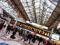 ブライトンからロンドン・ビクトリア駅に戻りました。 オフピーク料金だったので8ポンド。 行きは30ポンドくらいだったので、破格感あり。