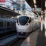 上野駅7:00発の「ひたち1号」に乗って常磐線を北上