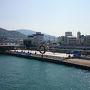 土庄港から高松へ渡ります。