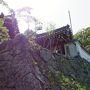 車を止めて、かるい坂を登って行くと小ぶりのお寺が。