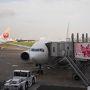 さて、羽田空港にやってきました。 本日もJALさんです。 お世話になります。