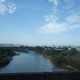 名取川を渡れば直ぐ。