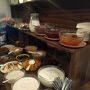 Hotel Prague Center Superiorの朝食です。 (写真は甘い系)  チーズやハム、サラダもあるビュッフェ形式。 ヨーグルト、オートミール、コンポート?、オートミルポリッジ等もあり結構充実してました!  エスプレッソマシーンもあるのでカフェオレやカプチーノも飲めます。
