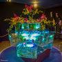 蘭と 金魚 幻想的です〜  金魚との アート アクアリウム  この作品が 見たかったので  ウットリです!!  フォレストヴィラ