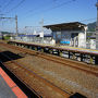 ●JR讃岐府中駅  丸亀方面の電車を待ちます。