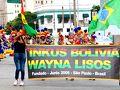 【ブラジルでボリビアカーニバル】  そんななかなか行く事ができない「ボリビアのカーニバル」が、サンパウロのLuz(ルス)駅の近くで行われると聞いて、早速見に行くの記。  http://www.pholia.com.br/