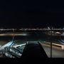 羽田発の国際線は夜出発しか乗ったことが無いので、いつもの風景。NH機が目立つなぁ。