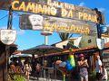 【ポルト・デ・ガリーニャス Porto de Galinhas】  レシフェから観光バスで約1時間半で到着です。