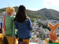 カラフルな村の風景を一目で見渡せる星の王子様の展望スポットも必見♪