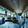 路線バスと聞いておりましたが、リムジンバスで乗り心地最高!!
