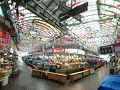 朝ごはんを食べに広蔵市場へ。 MRT1号線 鐘路5街駅で降りると目の前が市場入口で便利。